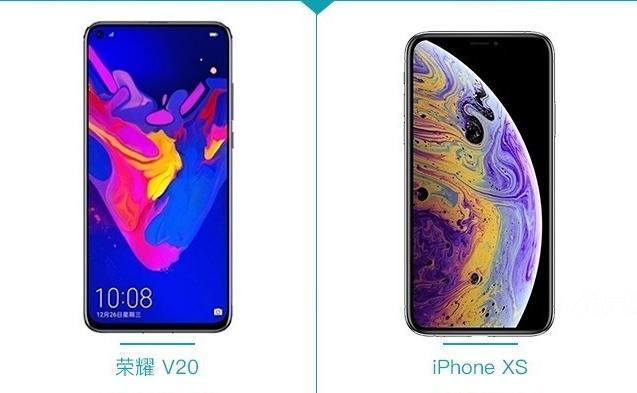 荣耀V20与iPhone XS对比评测:4800万像素强在哪?