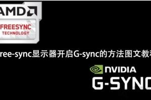 NVIDIA显卡(N卡)适配Free-sync显示器开启G-sync的方法教程