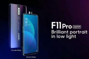 OPPO F11 Pro渲染图曝光:采用升降摄像头设计,这屏占比真香!
