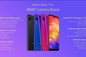红米Note 7 Pro将于3月18发布,搭载骁龙675+索尼MIX586