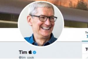 库克把推特名改了怎么回事?被特朗普叫成蒂姆·苹果 库克把推特名给改了