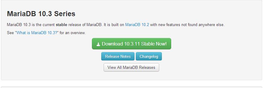Windows10系统下MariaDB数据库安装教程图解