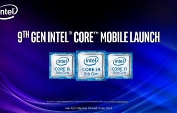 Intel第九代移动版标压酷睿处理器深度解析:游戏本进入5GHz时代