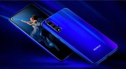 荣耀20系列发布:搭载麒麟980处理器+挖孔屏+侧边指纹,售价499欧元