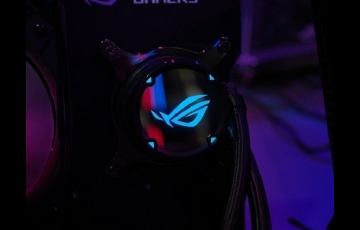 华硕全新ROG STRIX LC水冷风扇发布,搭载360mm冷排风扇+RGB灯效
