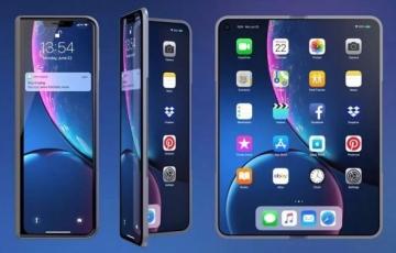 """苹果iPhone、iPad双折叠屏幕专利曝光:可折成""""S""""形和""""G""""形"""