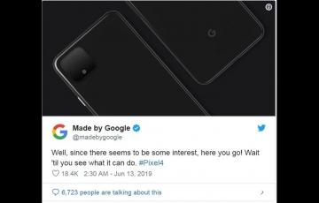 谷歌揭秘Pixel 4设计:确认双后置摄像头,全玻璃背壳