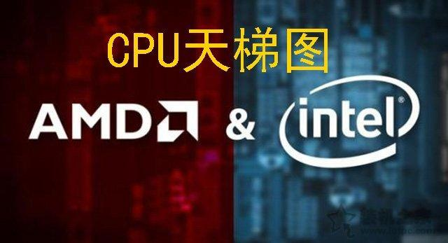 CPU天梯图2019年8月-9月最新排行榜 intel和AMD到底选哪个?