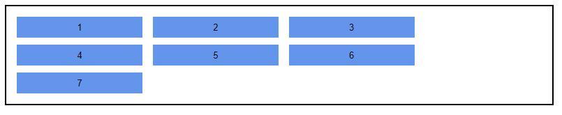 CSS自适应布局实现子元素项目整体居中/内部项目左对齐示例代码