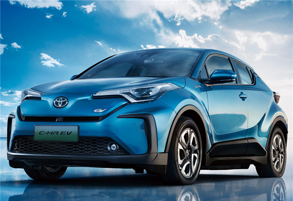 广汽丰田首款纯电动车型C-HR EV上市,补贴后售价22.58万起