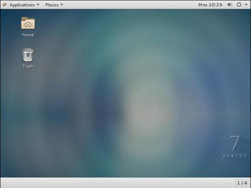 CentOS 7一键安装桌面环境命令(可远程RDP连接)