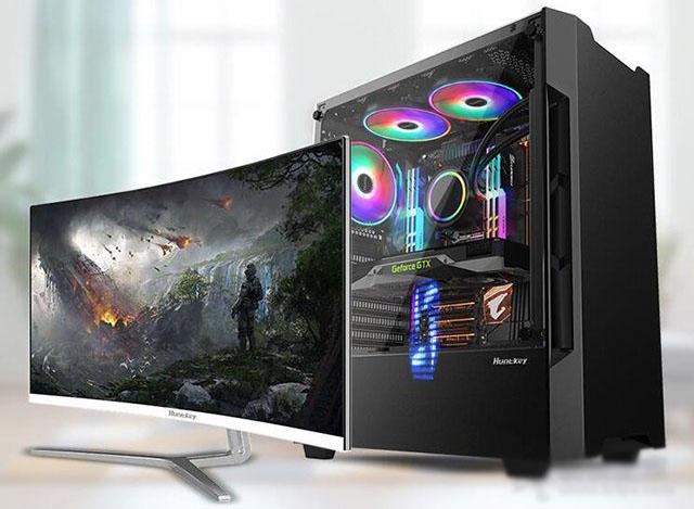 intel十代酷睿i3-10100配GTX1650Super显卡游戏电脑配置推荐